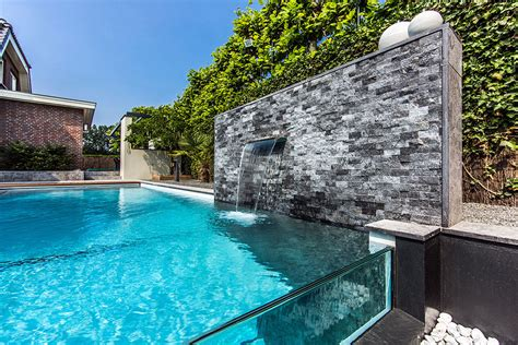 Pictures Of Backyard Pools Backyard Garden With Amazing Glass Swimming Pool Idesignarch Interior Design
