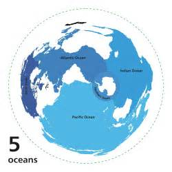 Ocean World Map by 7 Oceans Of The World Divisions Of The Oceans