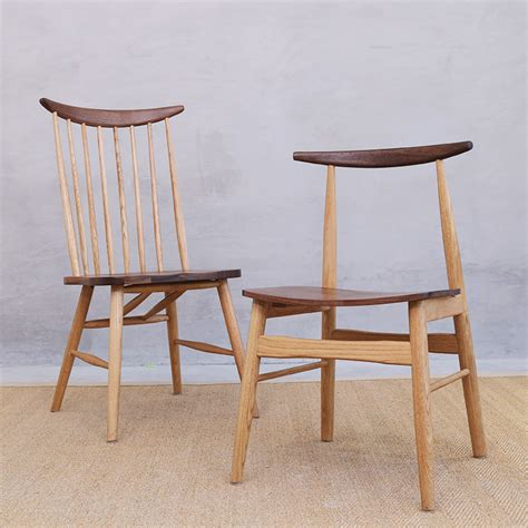 white oak wood chairs aliexpress buy nordic chair black walnut fight white