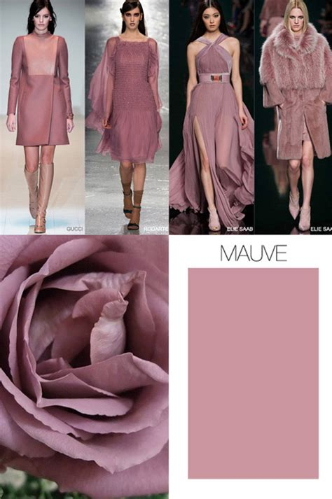 pink is the key color trend for fall winter 2015 2016