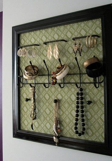 make your own jewelry holder make your own jewelry holder out of an frame and