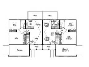duplex floor plans with garage brooktree duplex home house plans home and ranch house