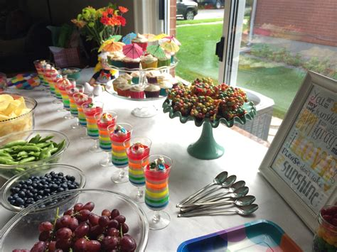 7 Only Ideas by Summer Birthday Food Ideas Decoration