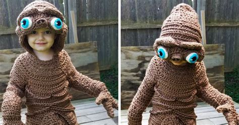 mom crochets  costume   son    days