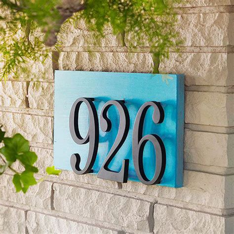 house number design ideas 20 modern and creative diy house number projects home design and interior