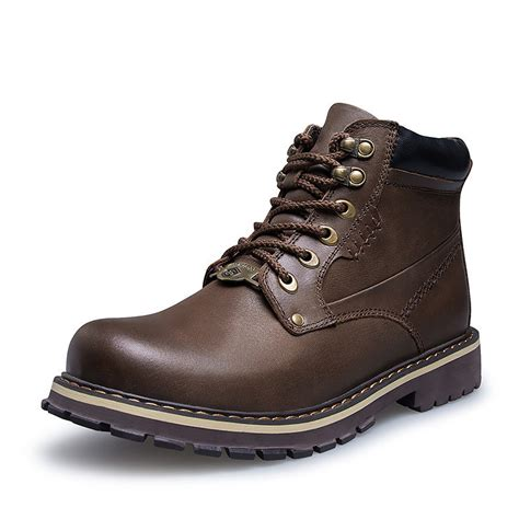 cheap leather work boots boot yc