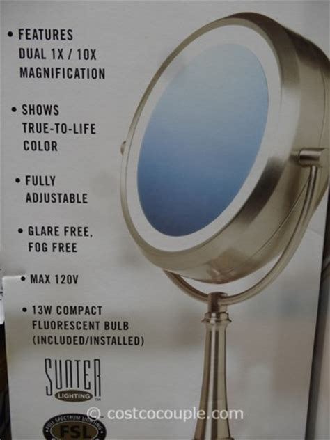 vanity mirror with lights costco natural daylight vanity makeup mirror life style by