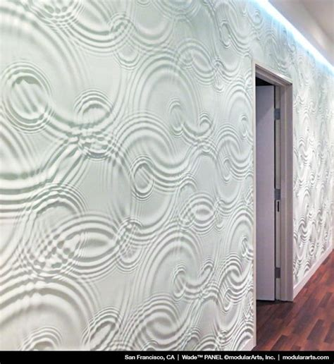 tile pattern wallboard coolest walls ever room dividers pinterest textured