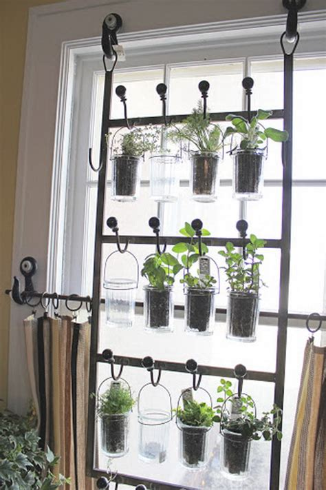 Indoor Window Garden | 25 cool diy indoor herb garden ideas hative