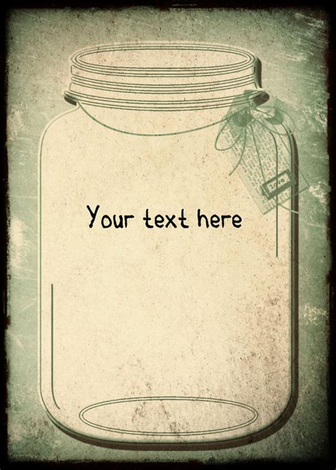 mason jar templates for invitations vintage wedding invitation template and rsvpmason by