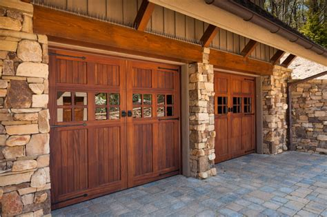 Stained Garage Doors wood stained garage doors modern garage doors and openers san diego by automatic door