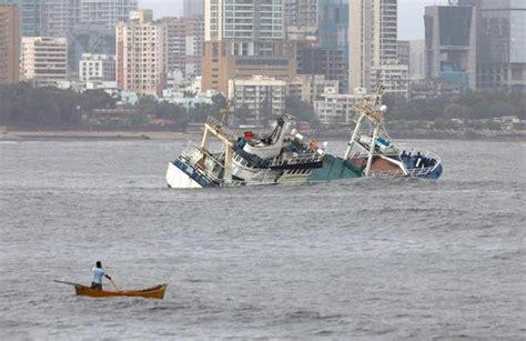 ark boat bandra popular floatel ark deck bar sinks in bombay