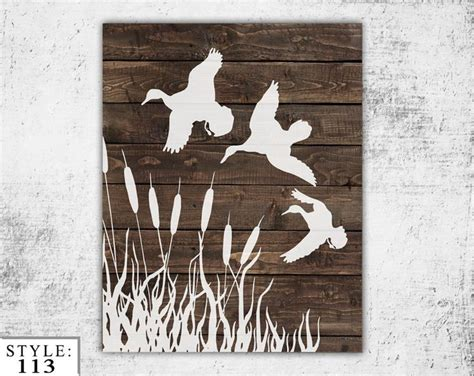 duck hunting home decor wooden ducks sign 11x14 home decor outdoors by