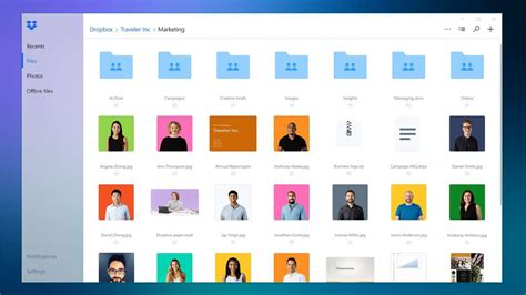 Dropbox New Design | dropbox for windows 10 updated with a new design and