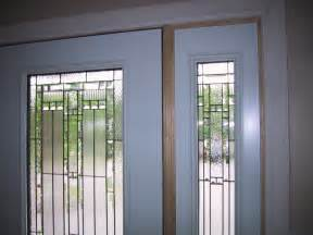 How to replace a front door glass insert glass front doors