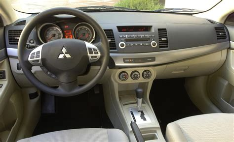 2008 Mitsubishi Lancer Interior car and driver