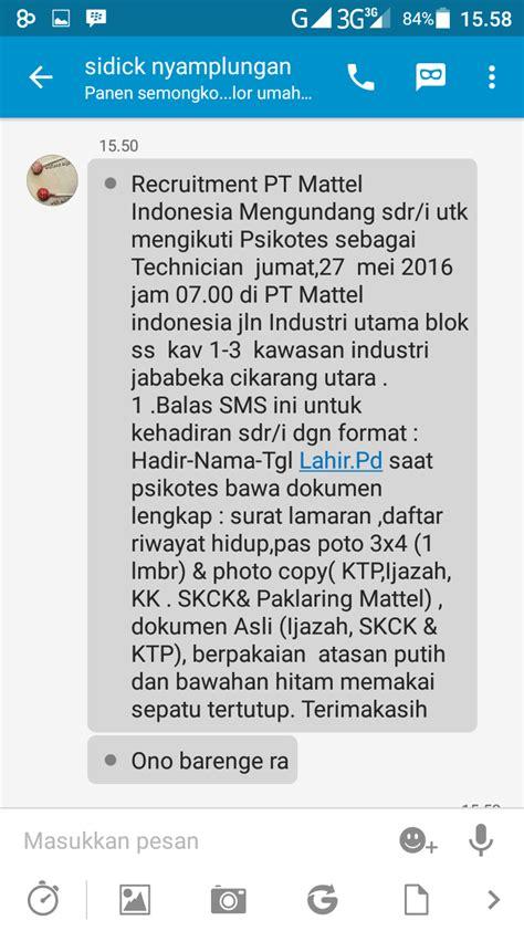 email pt kao karawang pt mattel indonesia jababeka cikarang random email