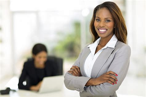 black african american business women african business woman in office image source www