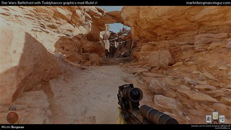 mod game hd realistic star wars battlefront the awesomer
