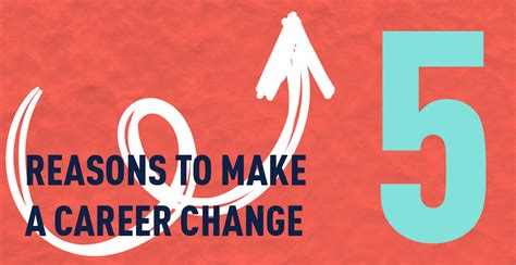 7 Reasons To Make A Career Change by 5 Reasons To Make A Career Change