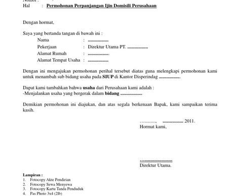 contoh surat pernyataan menjalankan usaha fontoh
