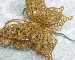 Lu Laser Natal borboletas decoracao arvore de natal elo7