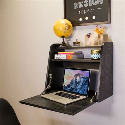 67 wall front desk 12 best laptop wall mount shelf images on