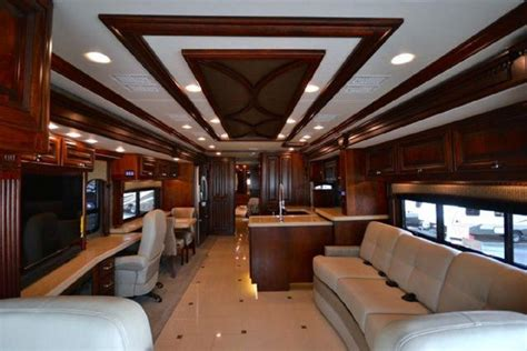 Class C Rv Floor Plans by The Most Expensive Luxury Motorhomes In The World