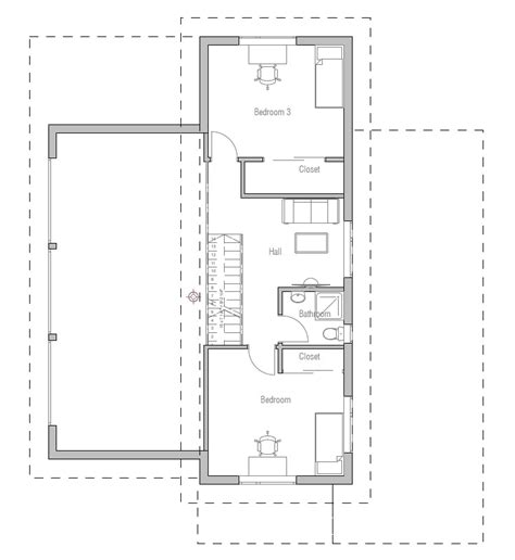 Small house plan ch51 small home floor plans and images house plan