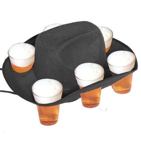 cappello porta birra cappello porta bibite da cowboy