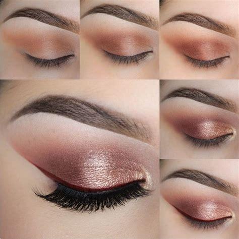 tutorial makeup natural harian rose red cat eye photo tutorial geek culture red cat