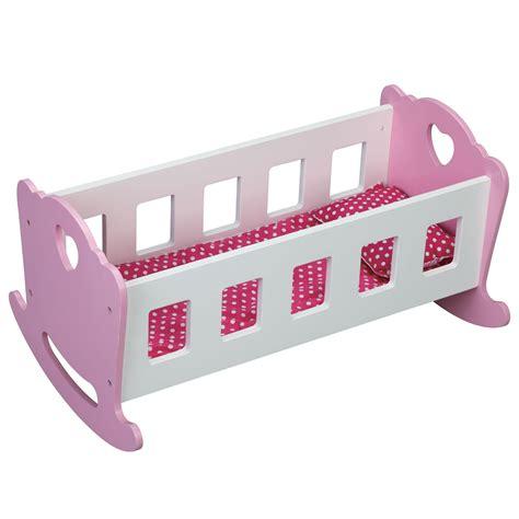 doll crib bedding molly dolly wooden dolls rocking cradle crib wood rocker