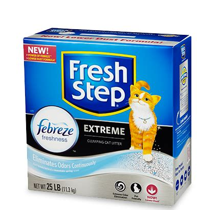 Fresh Step Sweepstakes - free fresh step 174 clumping litter 25lb carton