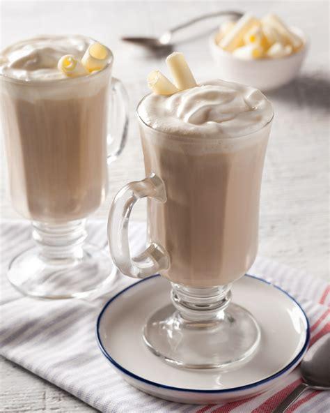 White Coffee Hazelnut white chocolate hazelnut mocha taste of the south