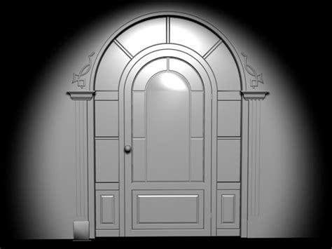 3d Door by Antique Door Basement Entry Castle Entrance 3ds 3d
