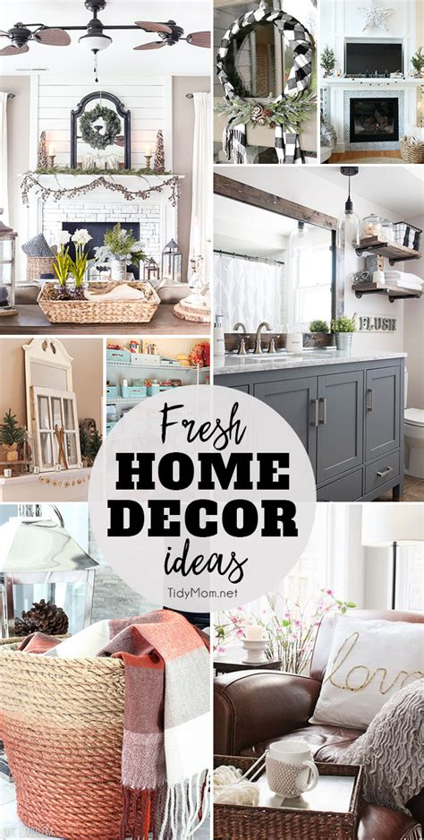 fresh home decor ideas tidymom
