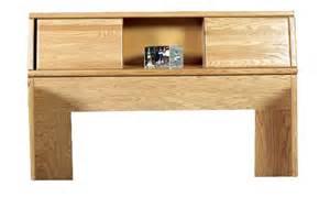 oak bookcase headboard queen fd 3012 contemporary oak angled sliding doors bookcase
