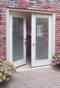 magnetic blinds for french doors use luxury style to make front door frosted glass panels doors pinterest