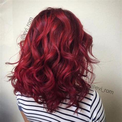 wine hair color 50 burgundy hair color ideas for this fall hair