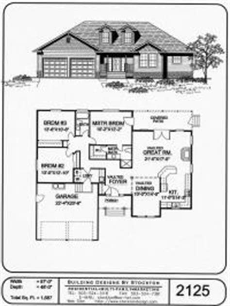 home design single story plan one story house and home plans