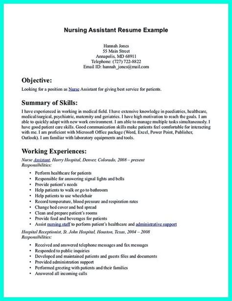 Cna Caregiver Resume Sles Resume Resume Exles And Caregiver On