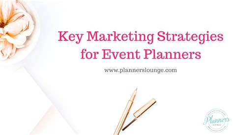 Wedding Planner Events by 5 Must Marketing Strategies For Event Planners