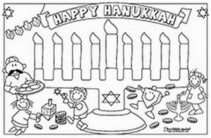 hanukkah color hanukkah coloring pages menorahs family net
