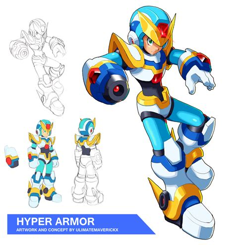 megaman x4 apk megaman x9 hyper armor by ultimatemaverickx on deviantart