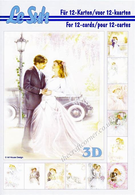 Wedding Decoupage - wedding a5 3d decoupage book from le suh