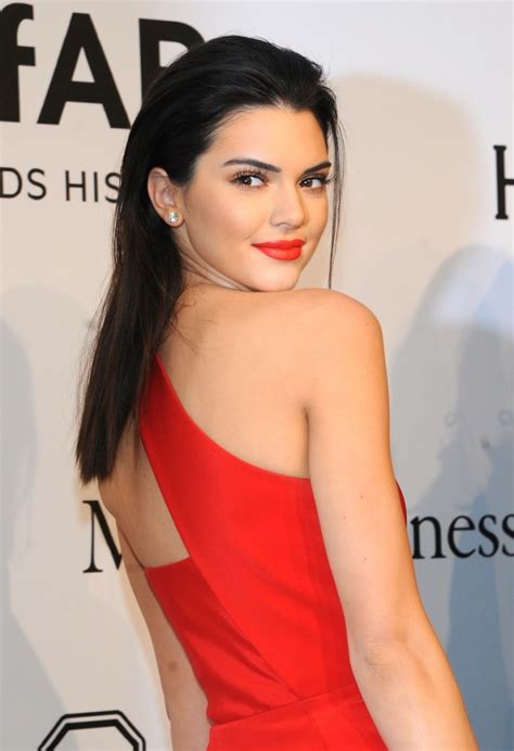 female celebrities with red pubic hair kendall jenner red slicked back hairstyle ideas for your next formal event