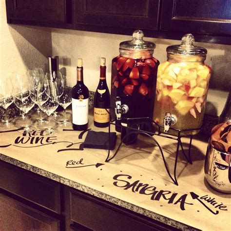 themes for small house parties sangria wine housewarming party let the winning pair