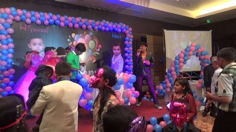 BIRTHDAY PARTY INDORE RADISSON INDIA CRAZY CHAPS EVENT