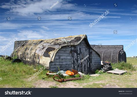 what are boat hulls made of storage sheds made from upturned boat hulls holy island