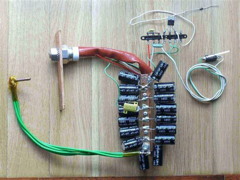capacitive discharge welder diy simple capacitor spot welder